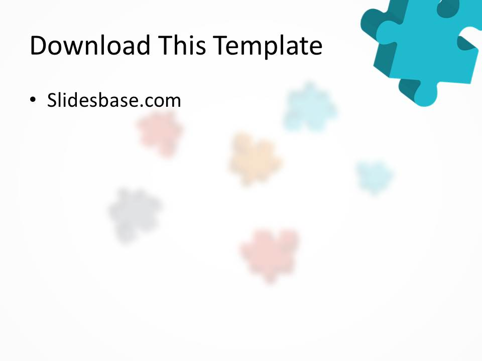 3d colorful puzzle powerpoint template slidesbase 3d colorful jigsaw puzzle pieces animated flying powerpoint toneelgroepblik Image collections