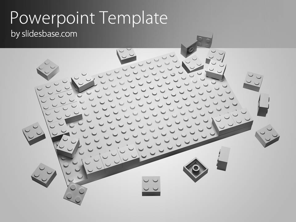 Lego Block Powerpoint Template  Slidesbase