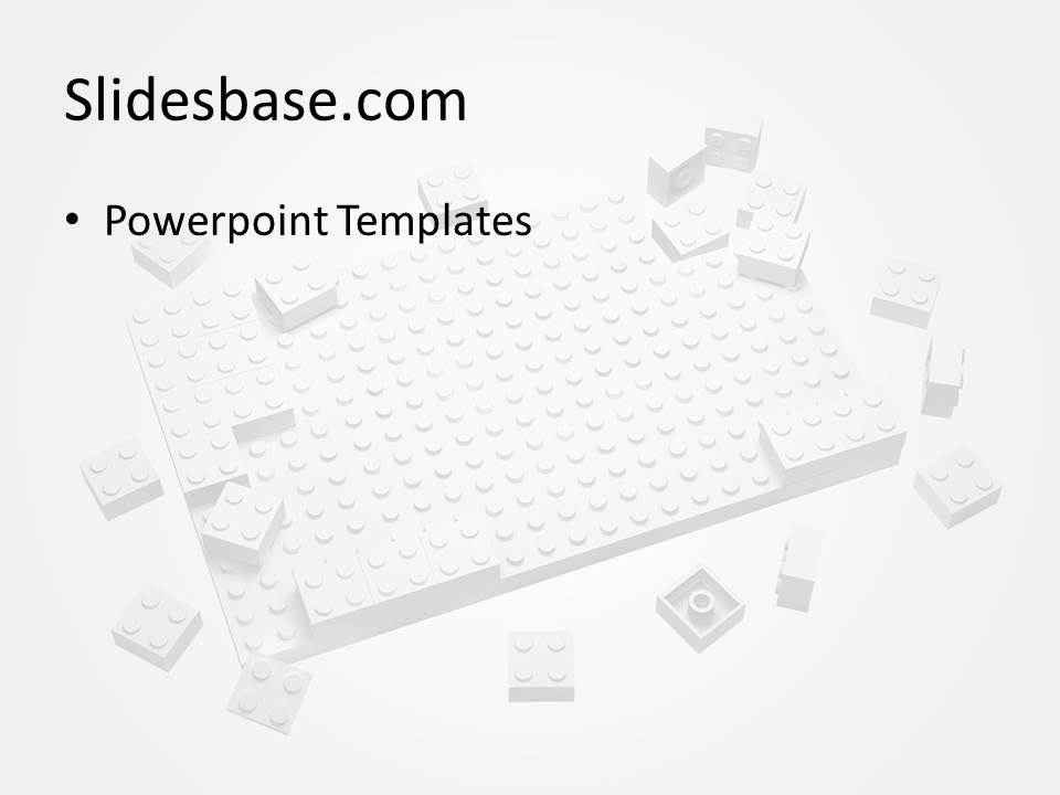lego block powerpoint template | slidesbase, Powerpoint templates