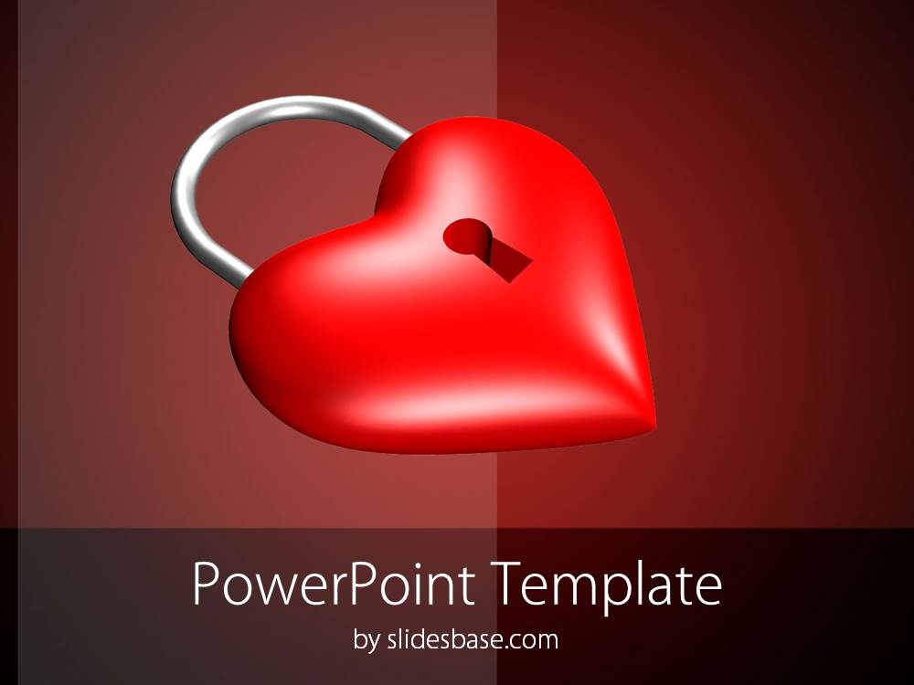 3D-valentine-red-heart-locked-symbol-no-love-powerpoint-template-single-Slide1 (1)