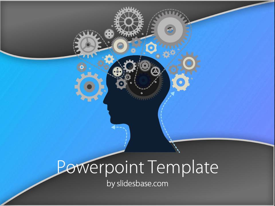 Pretty Free Brain Powerpoint Templates Images Gallery Psychology