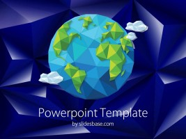 Slide1-polygone-earth-3d-seo-powerpoint-template