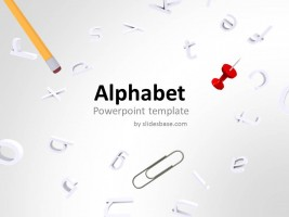 Games powerpoint template slidesbase alphabet powerpoint template toneelgroepblik Choice Image