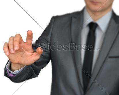 businessman-dark-suit-pointing-finger-at-touchscreen