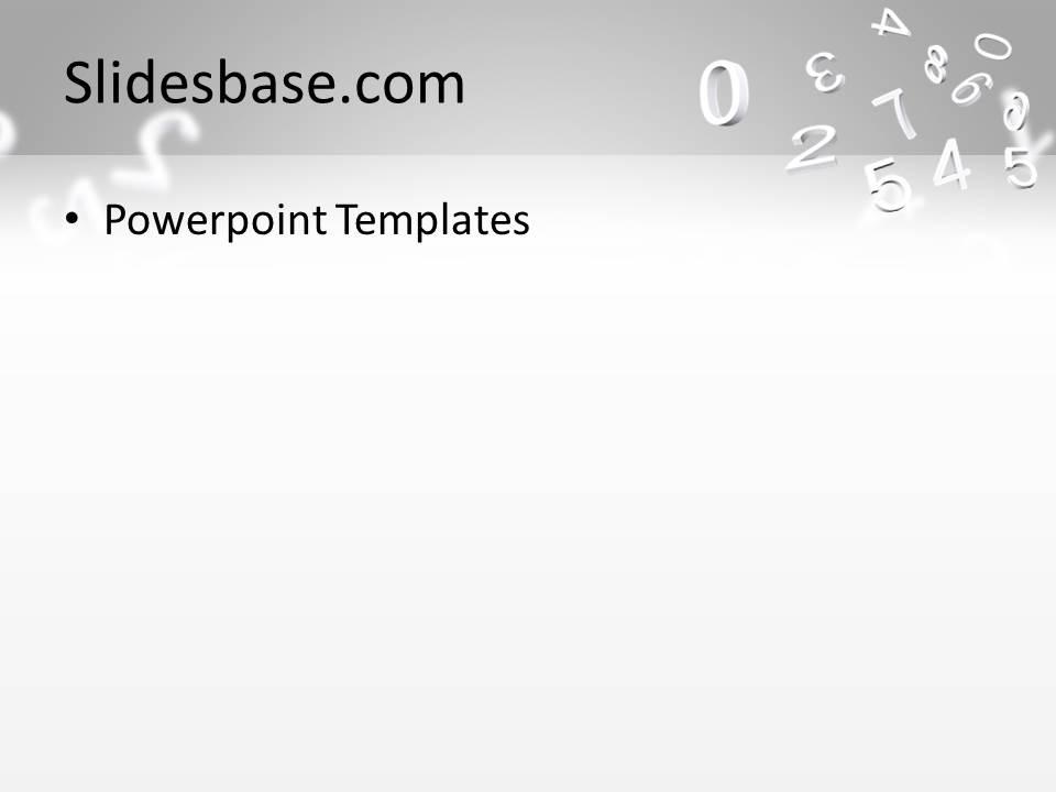 calculator 3d powerpoint template slidesbase