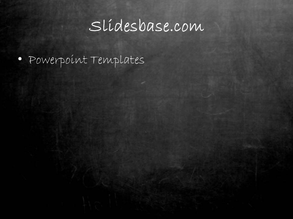 Blackboard chalkboard powerpoint template slidesbase chalkboard blackboard education school teacher pwerpoint template1 2 toneelgroepblik