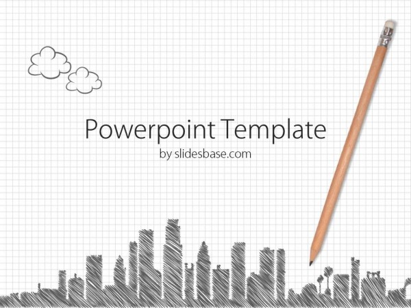 checkered-paper-pencil-sketch-drawing-city-skyline-buildings-cartoon-powerpoint-template-Slide1 (1)