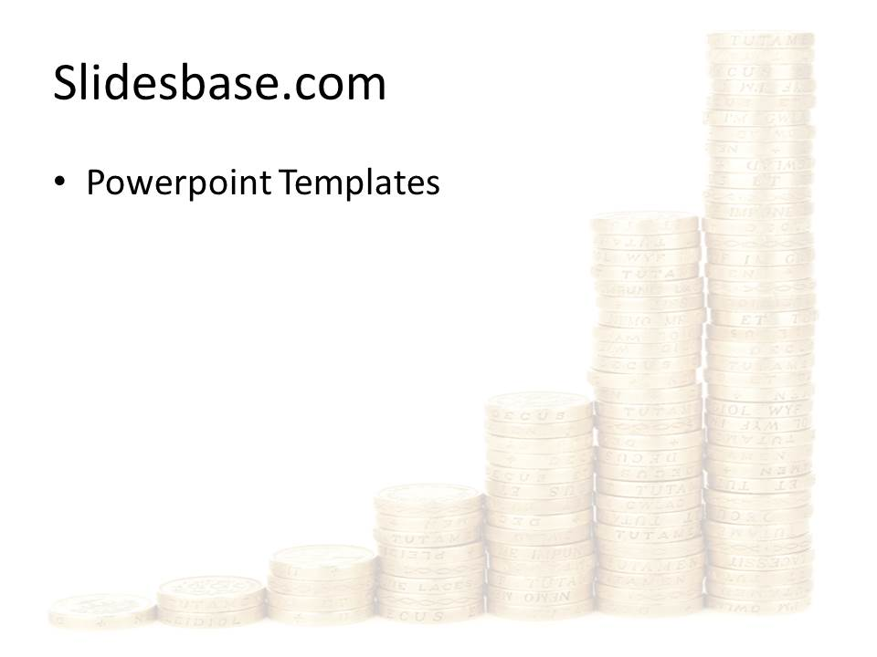 Coins graph powerpoint template slidesbase coins money business graph gold chart powerpoint template toneelgroepblik Choice Image