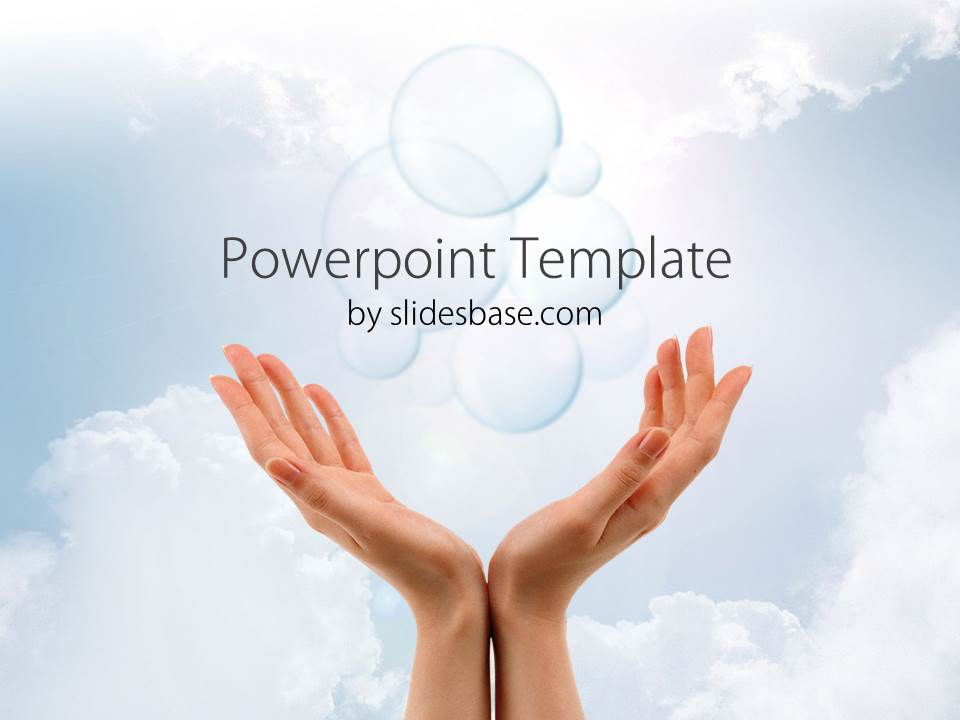 Future vision powerpoint template slidesbase company vision future sky hands dream prediction forecast toneelgroepblik