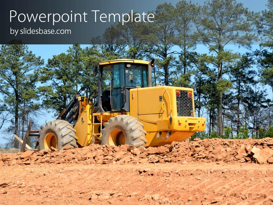 Heavy Construction Powerpoint Template