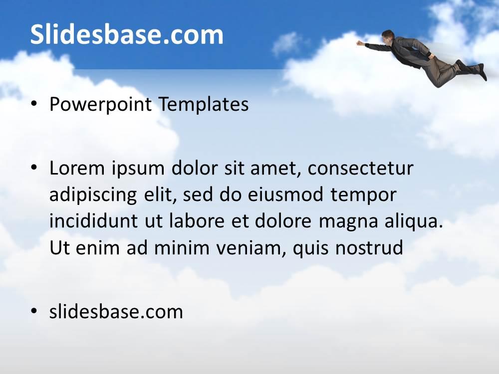Creative Cloud Powerpoint Template Slidesbase