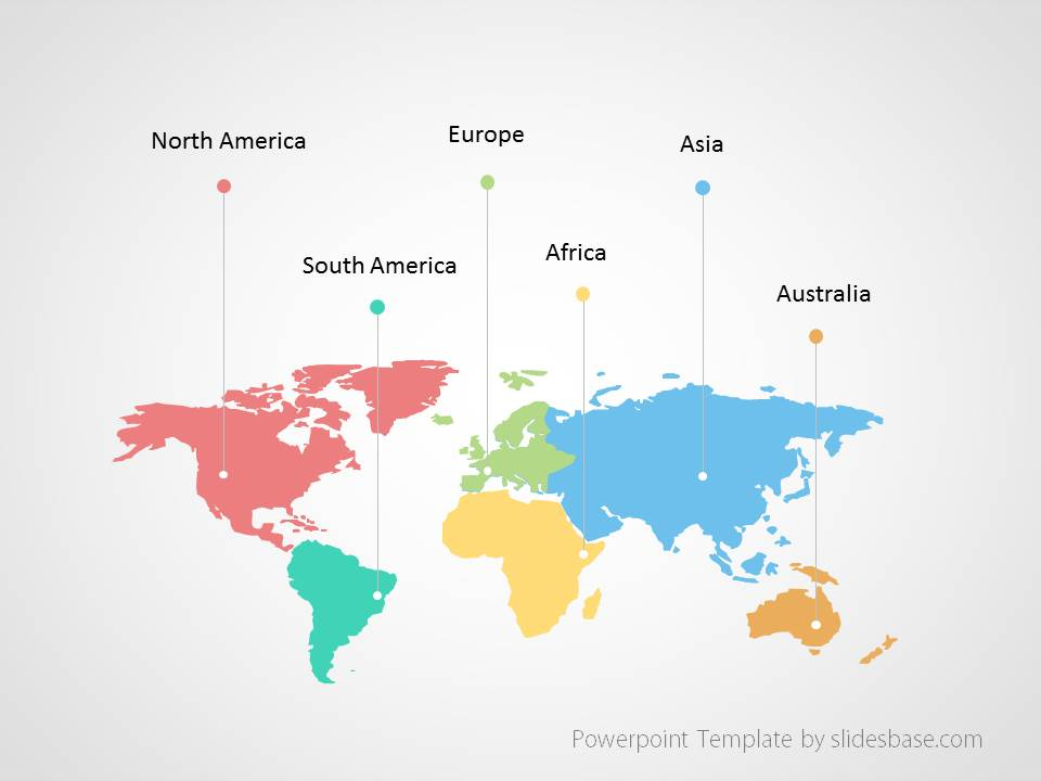 Powerpoint Global Map.World Map Infographic Powerpoint Template Slidesbase