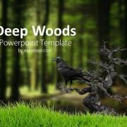 deep-dark-woods-forest-tree-mushroom-nuts-powerpoint-templateSlide1 (1)