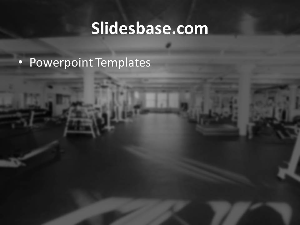 Gym training powerpoint template slidesbase gym training workout fitness bodybuilding weights lifting powerpoint toneelgroepblik Choice Image