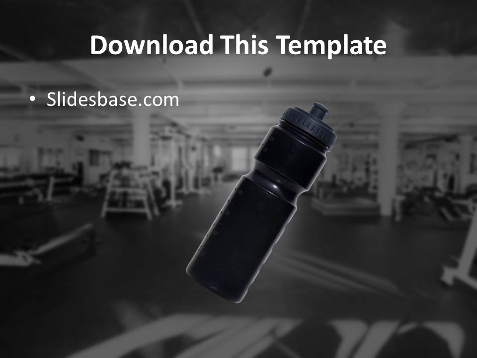 gym training powerpoint template