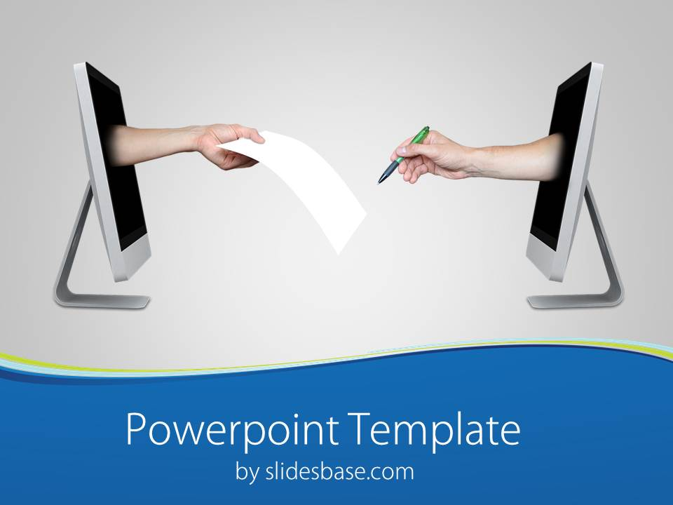 Purchase slidesbase sign a deal powerpoint template toneelgroepblik Image collections
