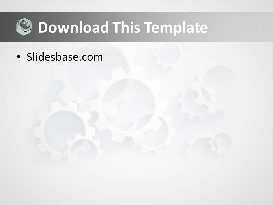 Mechanical Engineering Powerpoint Template | Slidesbase