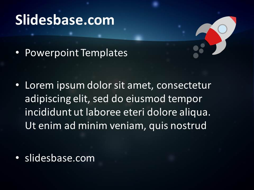 Launch of space rocket powerpoint templates oukasfo free business google slides themes amp powerpoint templates toneelgroepblik Gallery