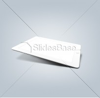 white-3D-ipad-shadow-transparent-screen-stock