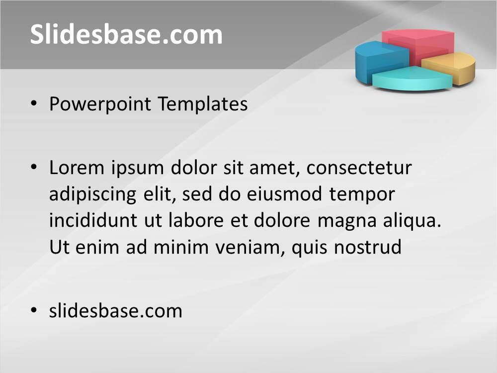 3d Pie Chart Powerpoint Template Slidesbase
