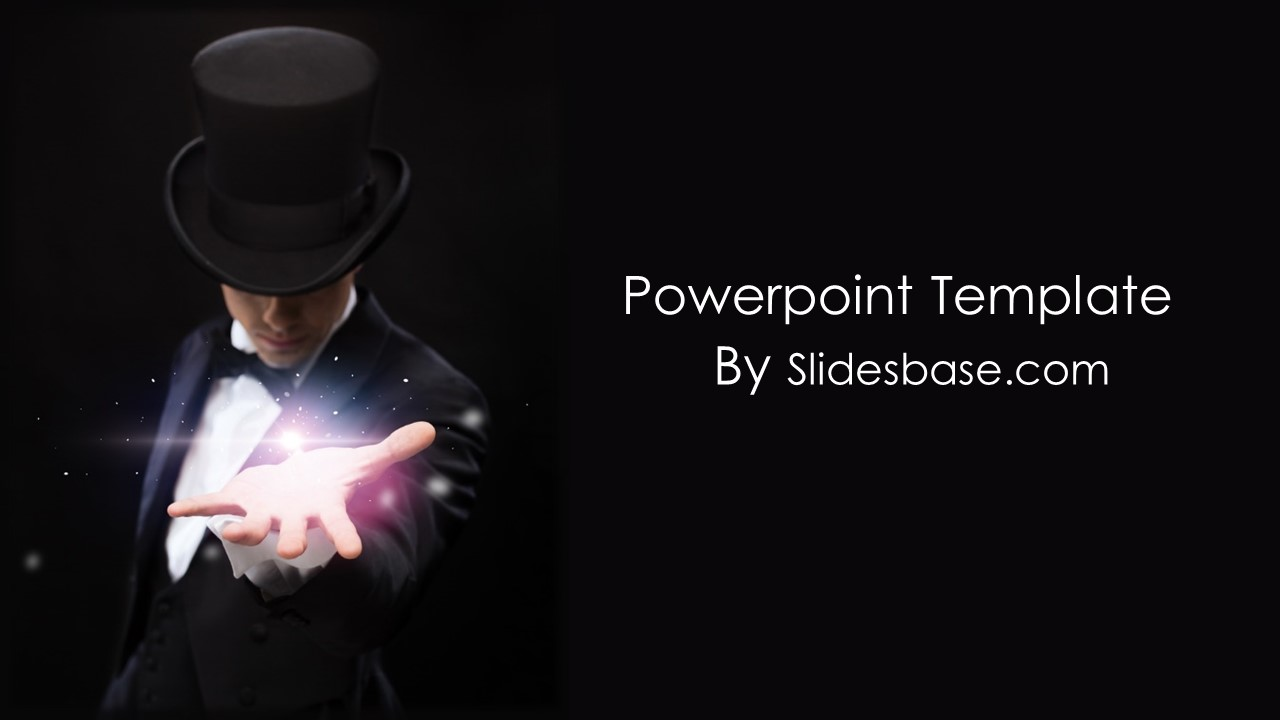 Magic PowerPoint Template | Slidesbase