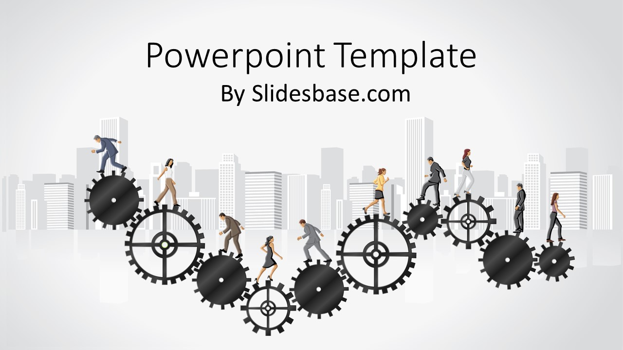 People And Organization Powerpoint Template Slidesbase