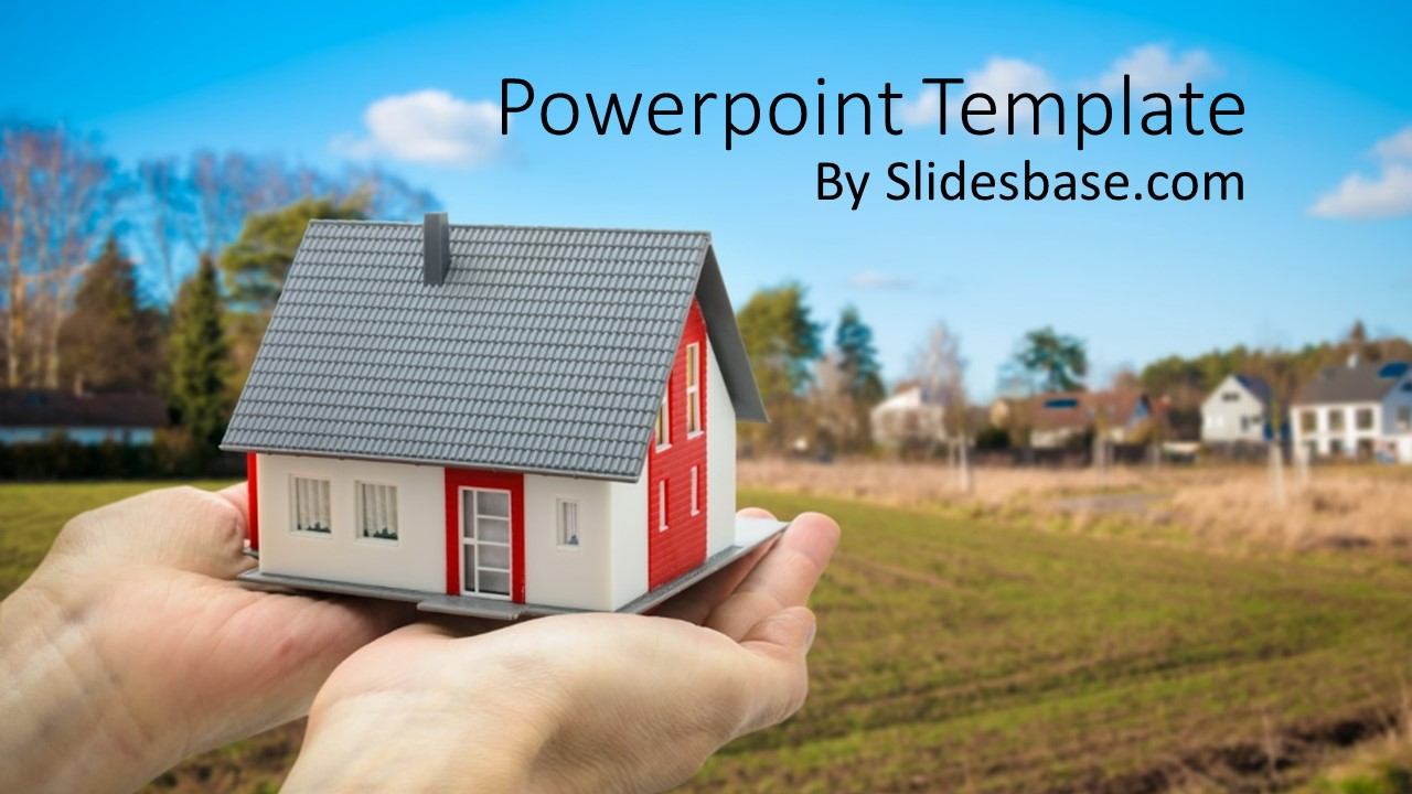 real estate powerpoint template | slidesbase, Modern powerpoint