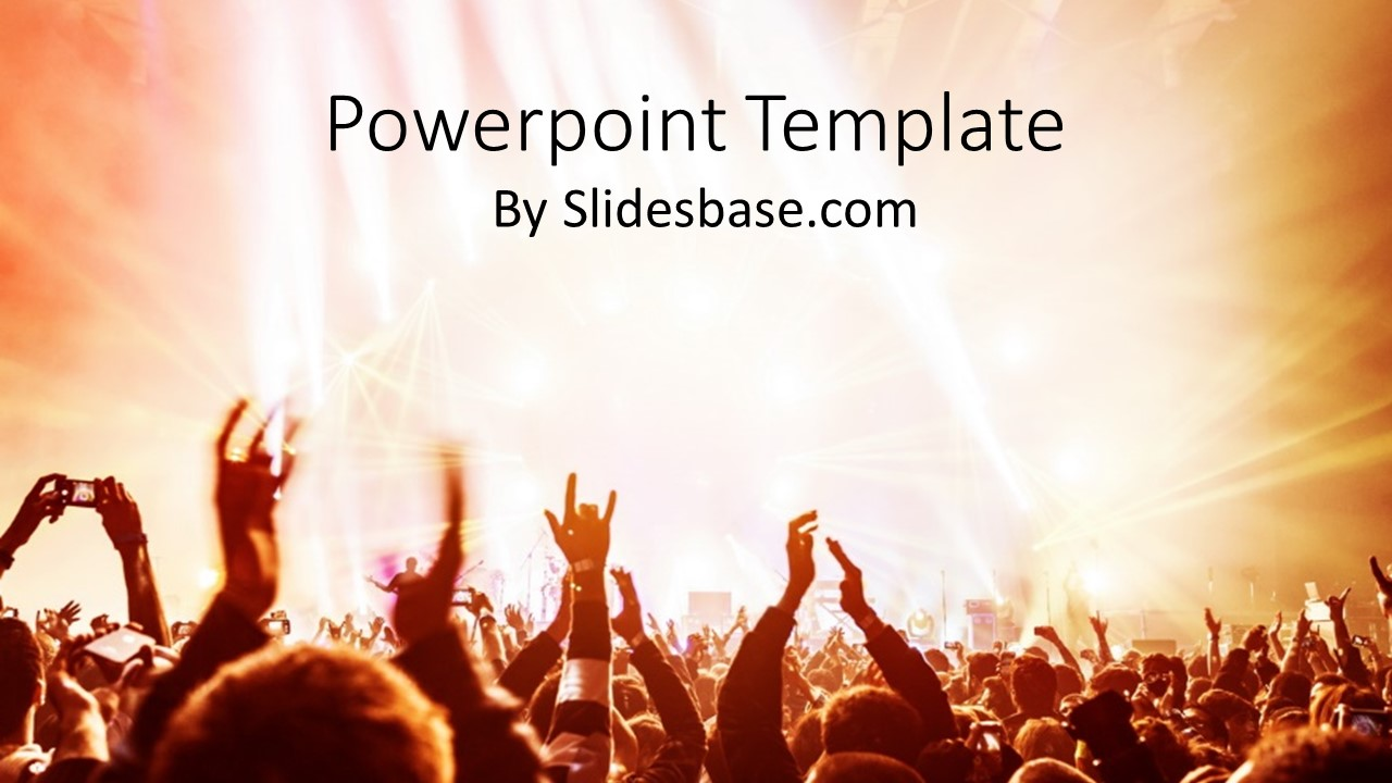 Rock on powerpoint template slidesbase rock on powerpoint template toneelgroepblik Gallery