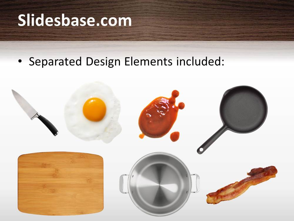 Kitchen table powerpoint table slidesbase cooking kitchen chef slice egg salat tomatoes pan toneelgroepblik Image collections