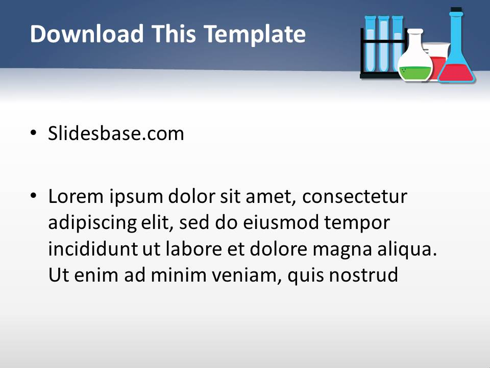 Lab analysis powerpoint template slidesbase lab analysis powerpoint template toneelgroepblik Images