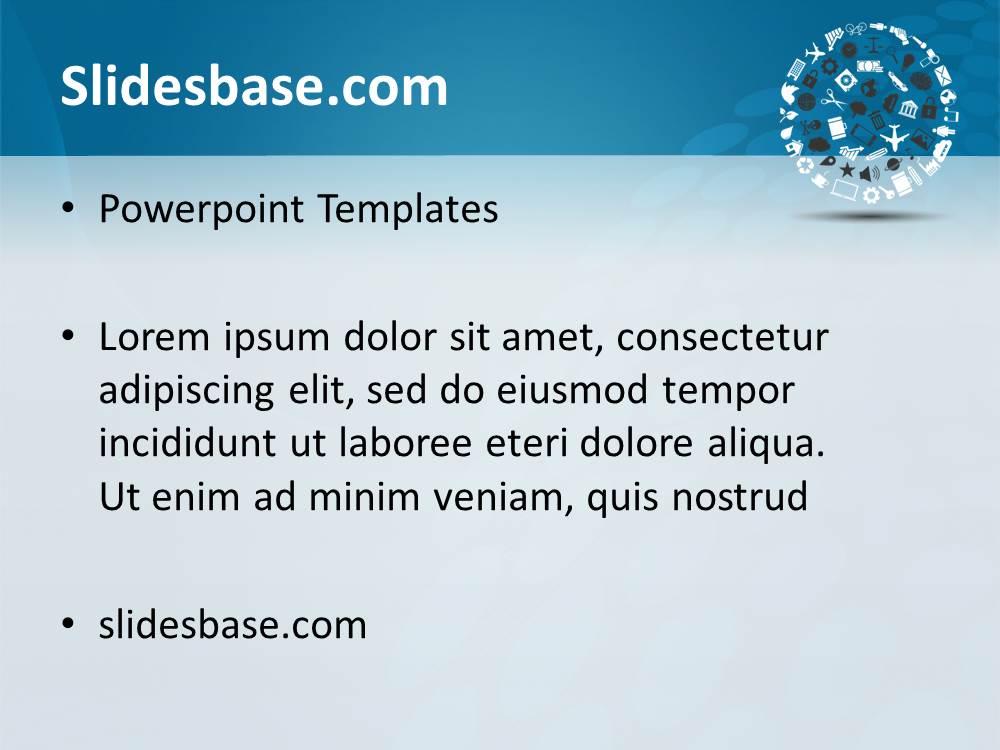 Creative circle powerpoint template slidesbase creative circle powerpoint template toneelgroepblik Gallery