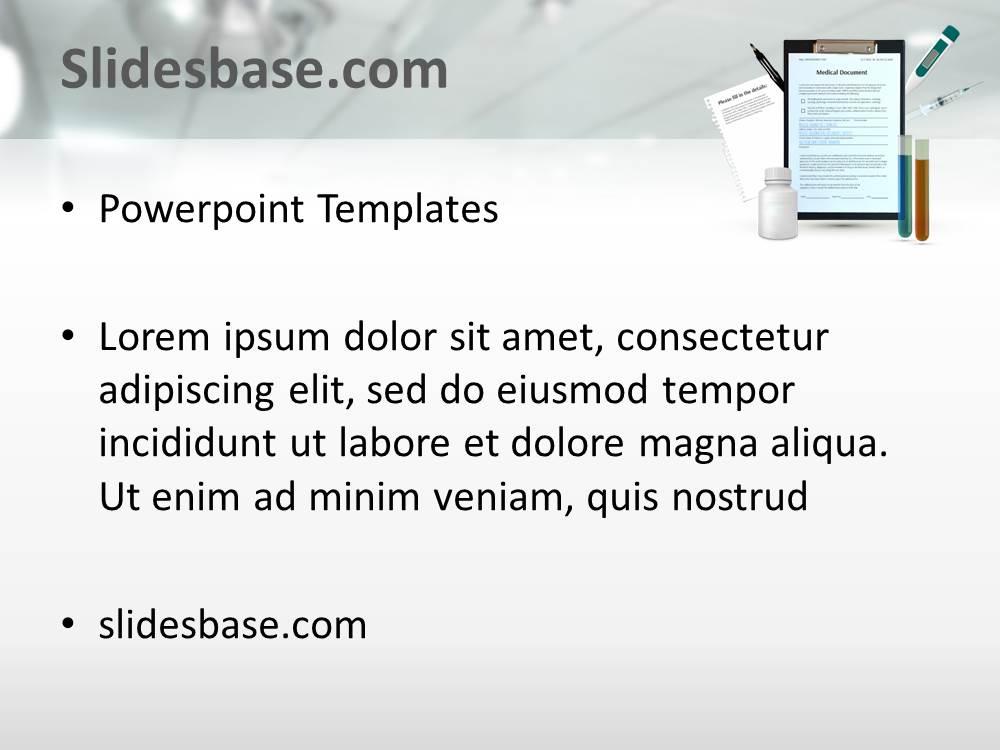 3d medical powerpoint template slidesbase medical healthcare hospital documents 3d powerpoint template slide1 toneelgroepblik Images