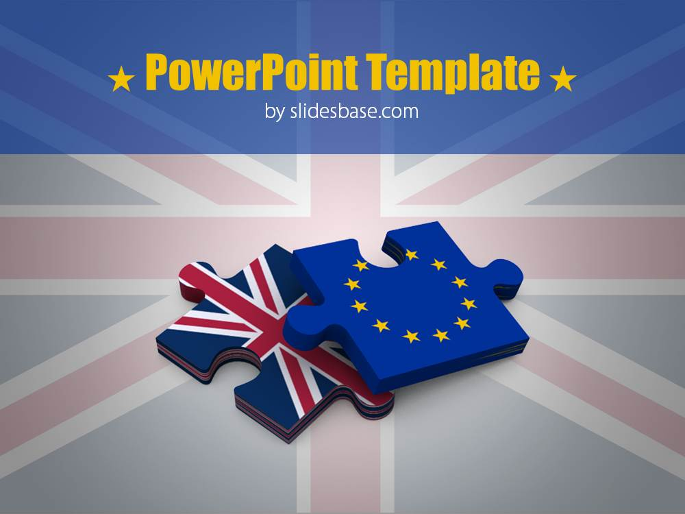 Brexit Powerpoint Template Slidesbase