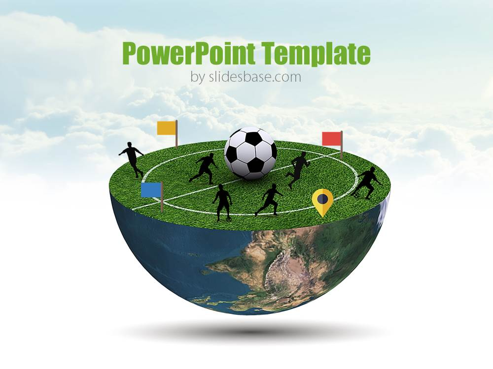 Football Planet Powerpoint Template  Slidesbase