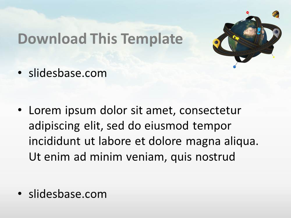 World as atom 3d powerpoint template slidesbase world as atom 3d powerpoint template toneelgroepblik Image collections