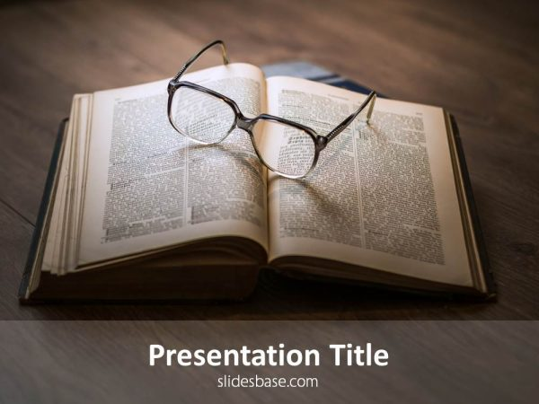 book-on-desk-glasses-reading-literature-powerpoint-template-ppt-Slide1 (1)