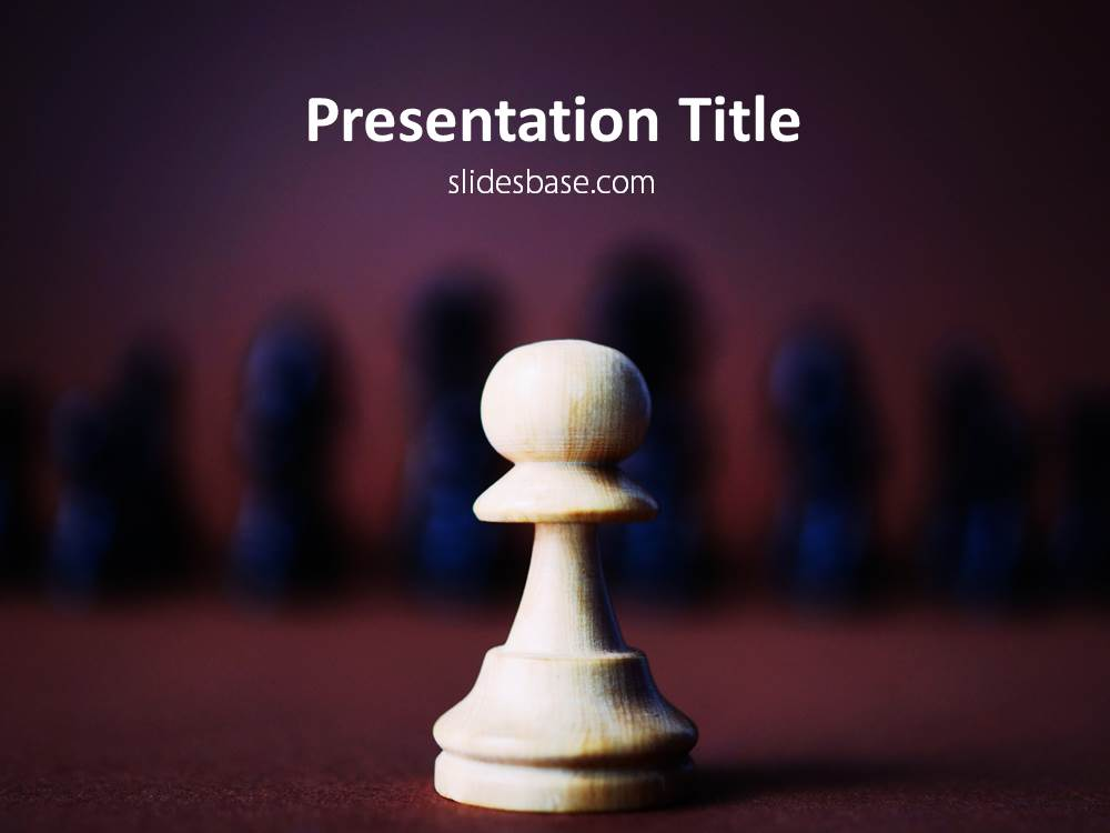 Strategy powerpoint template slidesbase chess strategy powerpoint template ppt download slide1 1 toneelgroepblik