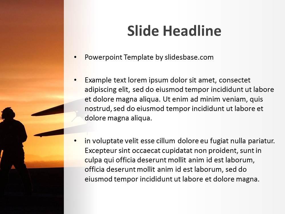 Jet fighter powerpoint template slidesbase jet fighter airplane aviation war pilot plane carrier toneelgroepblik Choice Image