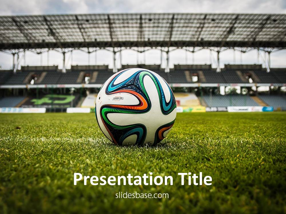 Soccer Powerpoint Template | Slidesbase