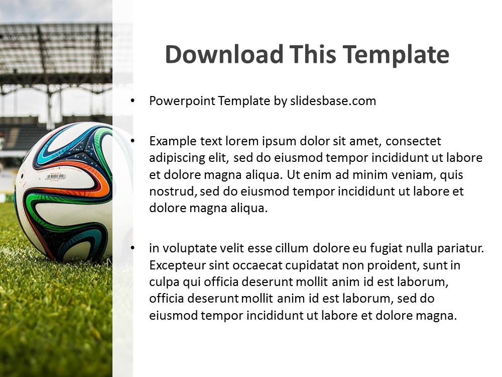 Powerpoint templates soccer images powerpoint template and layout soccer powerpoint template slidesbase soccer powerpoint template toneelgroepblik images toneelgroepblik Gallery