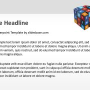 3d-social-media-icons-on-rubiks-cube-ppt-template-powerpoint-slide1-2