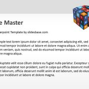 3d-social-media-icons-on-rubiks-cube-ppt-template-powerpoint-slide1-3