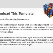 3d-social-media-icons-on-rubiks-cube-ppt-template-powerpoint-slide1-4