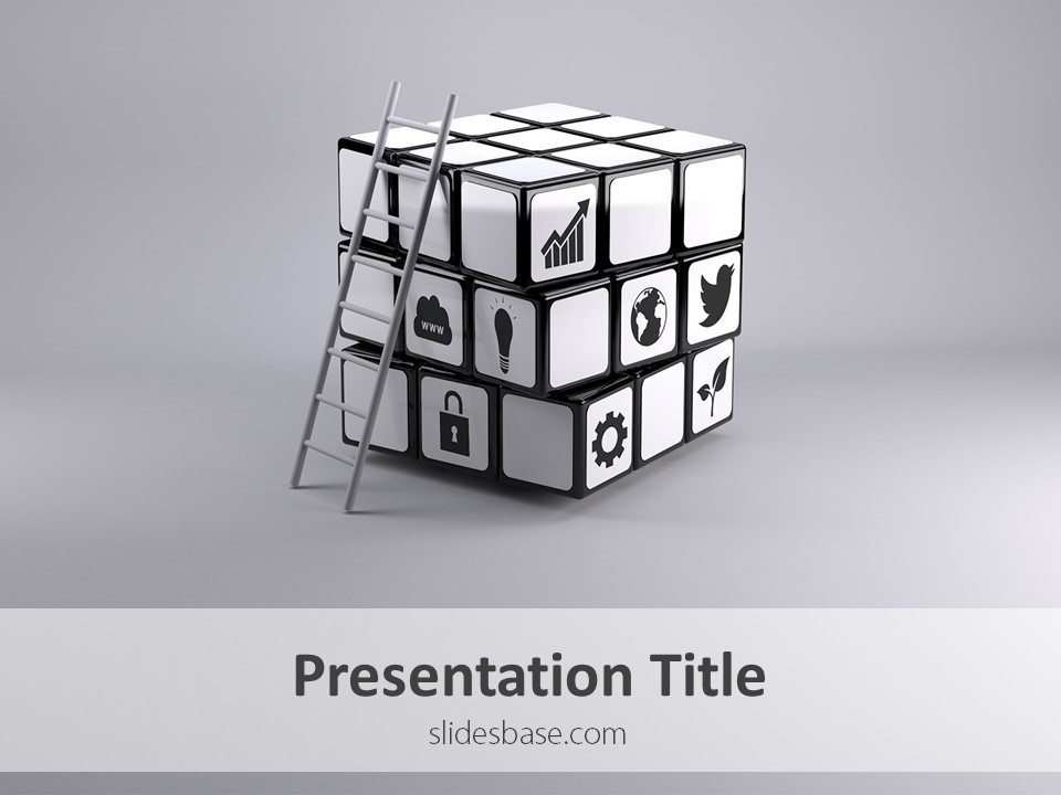 business solution – powerpoint template | slidesbase, Modern powerpoint