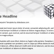 blank-white-rubiks-cube-3d-presentation-template-engineering-strategy-puzzle-idea-powerpoint-ppt-template-slide1-2