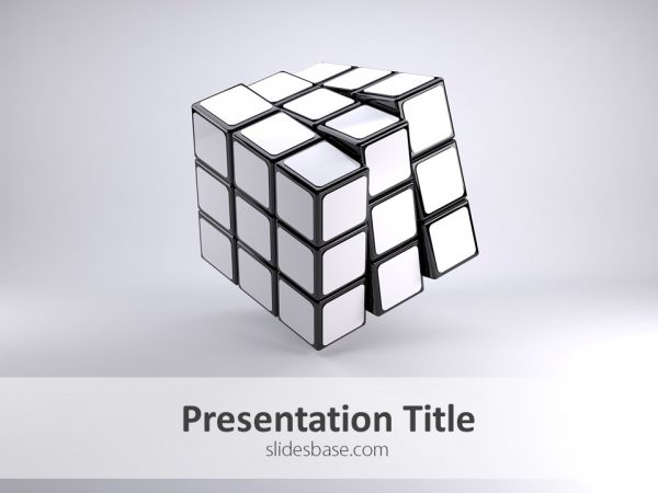 blank-white-rubiks-cube-3d-presentation-template-engineering-strategy-puzzle-idea-powerpoint-ppt-template-slide1-1