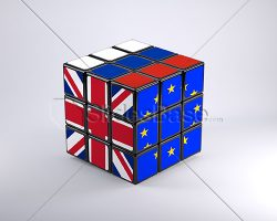 european-union-russia-great-britain-relations-rubiks-cube-flags-3d-stock-photo