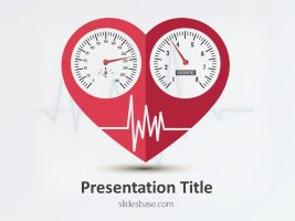 heart-speedometer-cardiogram-exercise-health-medical-cardiogram-monitor-powerpoint-template-for-presentationsslide1-1