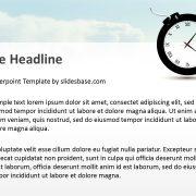time-bomb-creative-3d-bomb-as-clock-shape-ppt-powerpoint-template-deadlines-slide1-2