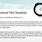 time-bomb-creative-3d-bomb-as-clock-shape-ppt-powerpoint-template-deadlines-slide1-4